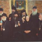 წმინდა სინოდის მღვდელმთავრები სენაკში
