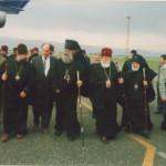 უწმინდესი პატრიარქი ილია მეორე და წმინდა სინოდის მღვდელმთავრები