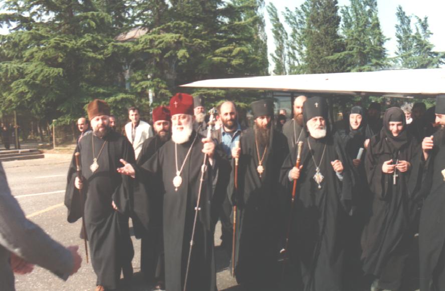ქართული ეკლესიის თავდადებული ბრძოლა საქართველოს სახელმწიფოებრივი ერთიანობისათვის